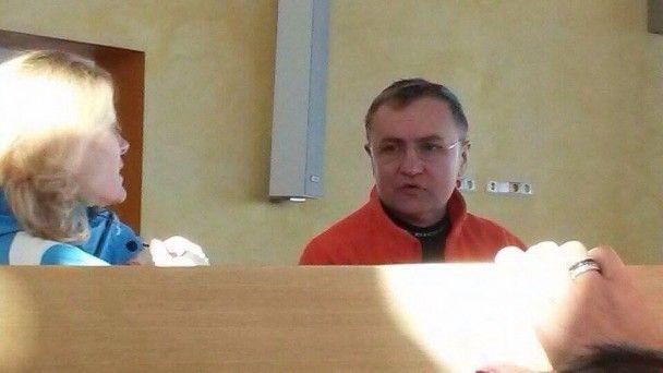 В Сети показали, как Садовой отдыхает на горнолыжном курорте в Италии