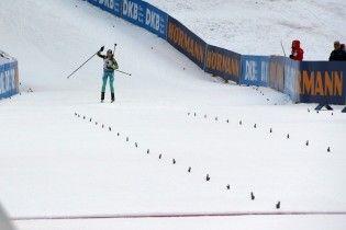 Українські біатлоністки фінішували четвертими в естафетній гонці у Рупольдингу