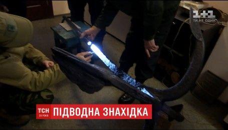 Украинские морские котики донырялись к исторической находке