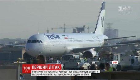До іранської столиці прилетів перший постсанкційний літак