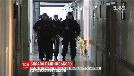 Начался перекрестный допрос пятерых участников стрельбы с политиком Сергеем Пашинским