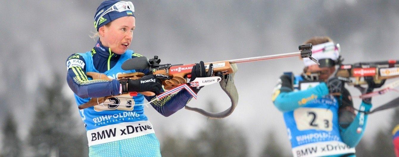 Українська біатлоністка зі сльозами на очах прокоментувала свій виступ на Олімпіаді