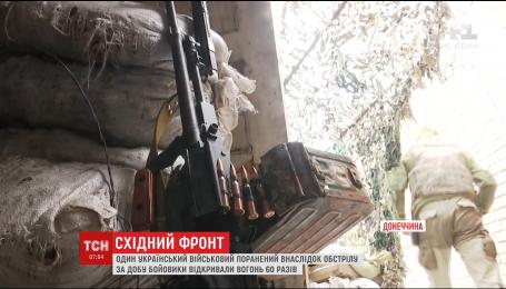 Боевики 60 раз открывали огонь по позициям украинских бойцов