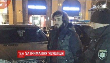 Полиция в центре Киева задержала чеченского разведчика
