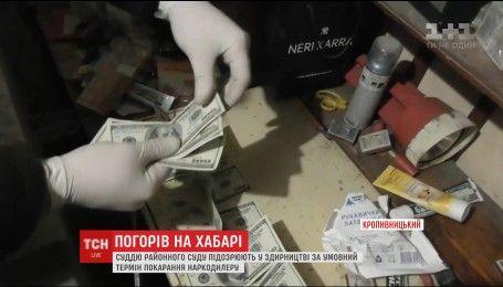 В Кропивницком на взятке задержали судью и адвоката