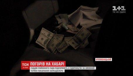 У Кропивницькому суддя попався на хабарі