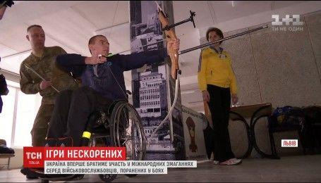 Україна вперше братиме участь у змаганнях серед поранених військовослужбовців
