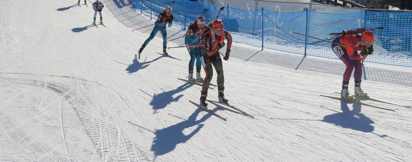 Дві українки фінішували в топ-10 у спринті на етапі Кубка IBU
