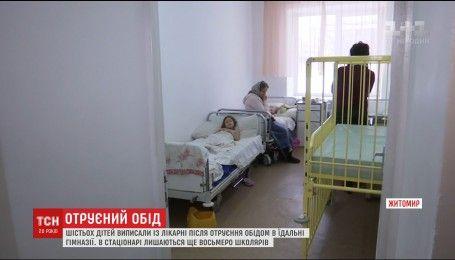 У Житомирі 6 школярів виписали з лікарні, куди вони потрапили внаслідок отруєння