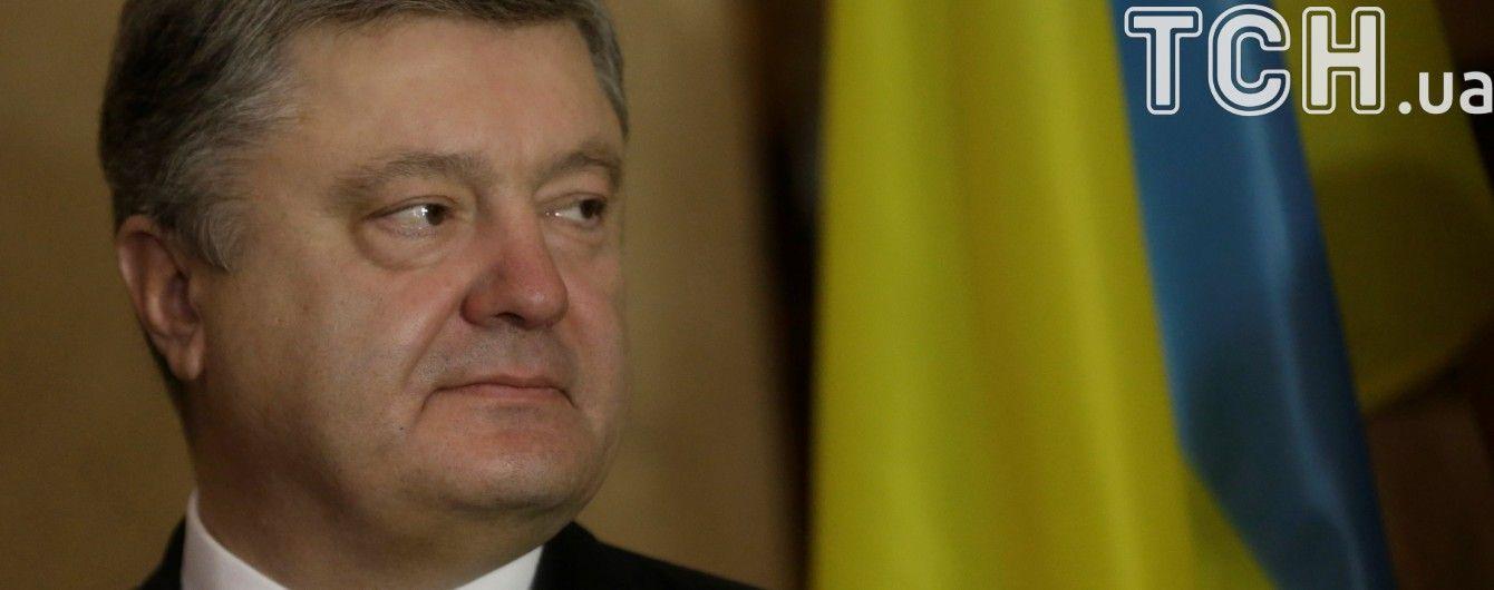 Критика блокады, кредит от МВФ и дело Насирова: о чем говорил Порошенко с журналистами