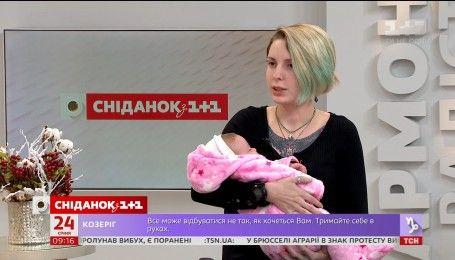 Волонтерка Яна Зинкевич: от фронта к рождению дочери