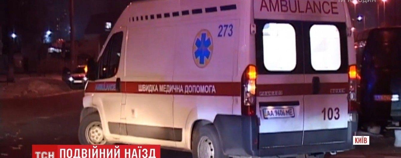 Кількох затриманих за події 9 травня націоналістів із поліції Києва забрали швидкі
