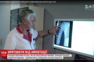Український лікар навчився вирощувати кістки для поранених вояків АТО