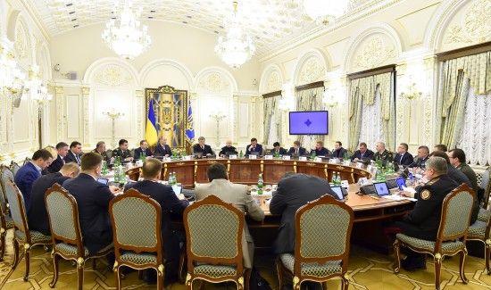 РНБО збирається на закрите засідання, аби вирішити майбутню долю окупованого Донбасу