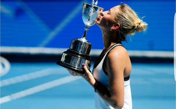 Українська тенісистка Костюк виграла юніорський Australian Open-2017