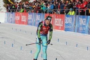 """Українка Джима виграла """"срібло"""" в пасьюті на чемпіонаті Європи з біатлону"""