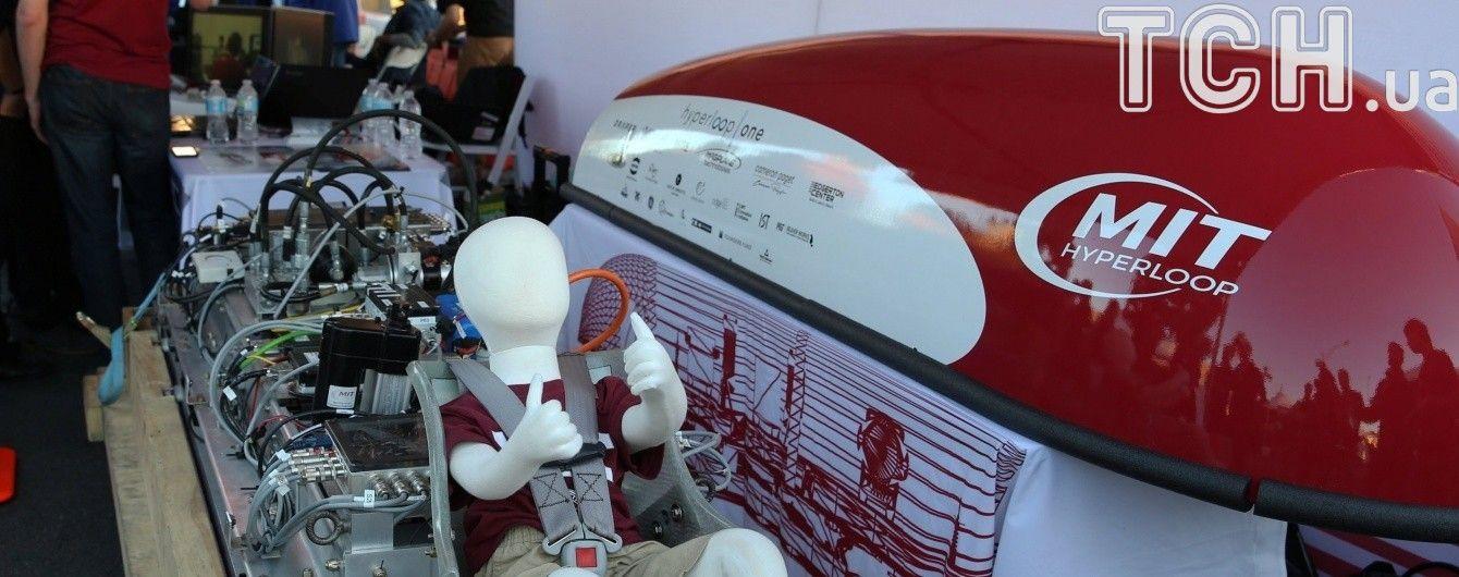 Перша у світі лінія Hyperloop з'явиться у 2020 році в ОАЕ