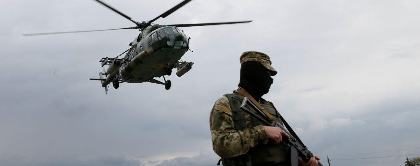 В штабе АТО прокомментировали заявление боевиков о сбитом украинском вертолете