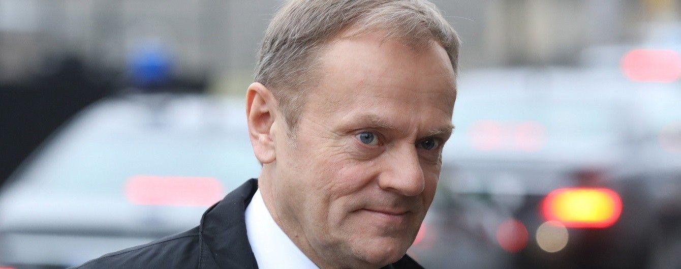 Туск запевнив, що Угода про асоціацію з ЄС набуде чинності 1 вересня