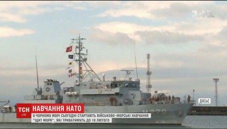 В Черном море начинаются военные учения НАТО