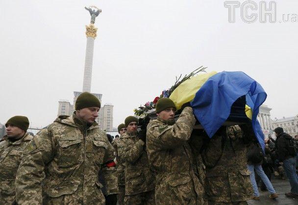 Герої не вмирають. Як на Майдані прощалися із загиблими під Авдіївкою бійцями