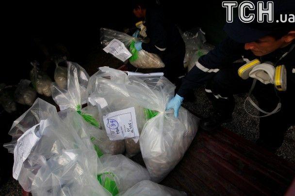 У Перу в газовій камері спалили майже 8 тонн кокаїну