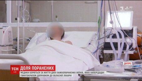 Медики лікарні Мечникова рятують поранених біля Авдіївки бійців