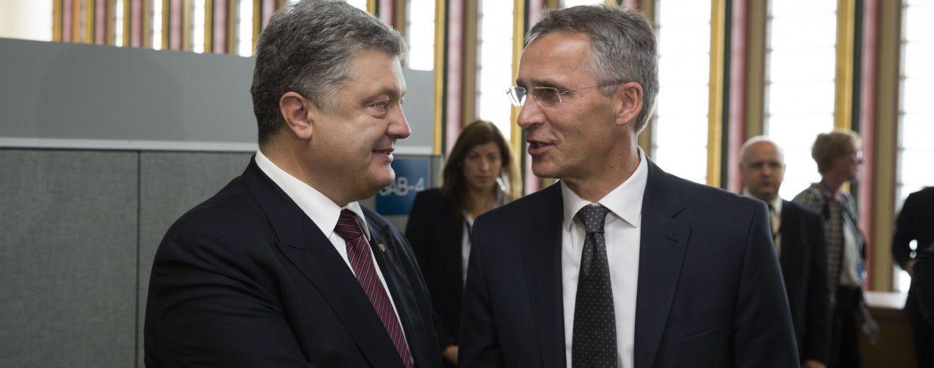 НАТО підтримує позицію України щодо антиросійських санкцій - Столтенберг