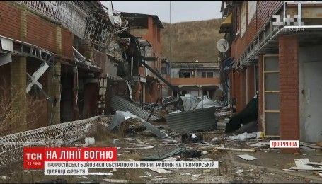 Приморской участок фронта атакует крупнокалиберная артиллерия с танками