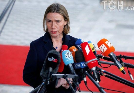 Євросоюз не визнаватиме виборів у анексованому Криму і подовжить санкції - Могеріні