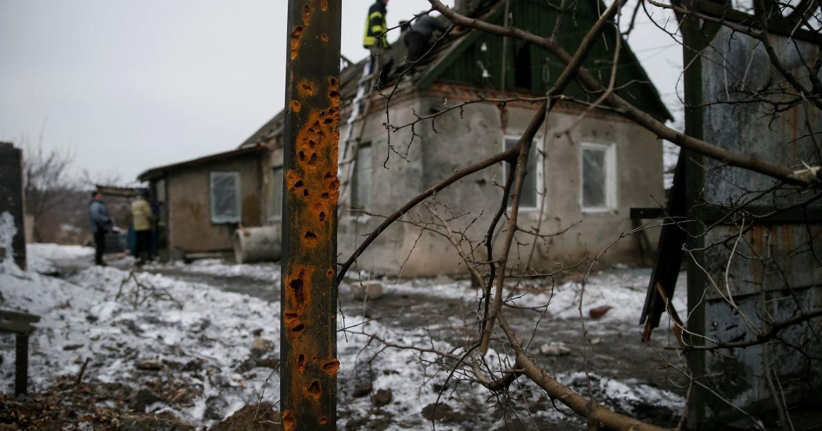Наслідки обстрілу Авдіївки @ Reuters