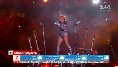 Леді Ґаґа влаштувала феєричне шоу на Супербоул-2017