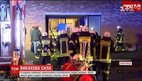 В двухэтажном здании в центре Кельна раздался взрыв