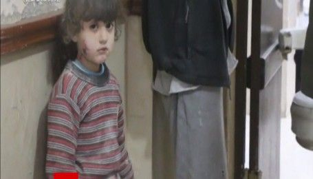 Ужасные кадры последствий авиаударов по Сирии попали в Сеть