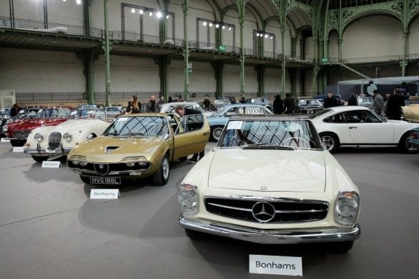 Во Франции стартовала выставка ретротехники