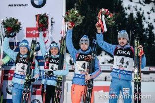 Российские биатлонисты не пожали руку Фуркаду, который требовал наказывать их за допинг