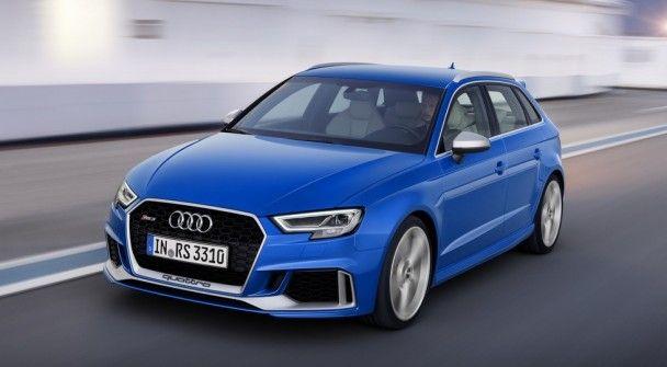 Audi представила обновленный хэтчбек RS3 Sportback
