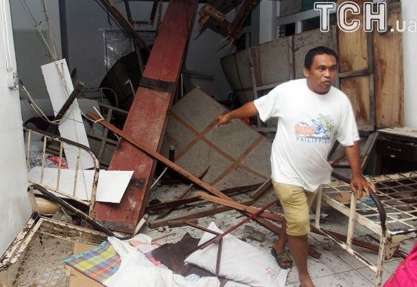 На Филиппинах произошло землетрясение силой 6,7 баллов