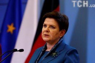 Популярна у Польщі прем'єр-міністр подала у відставку