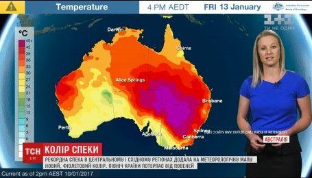 Австралия страдает от аномальной жары