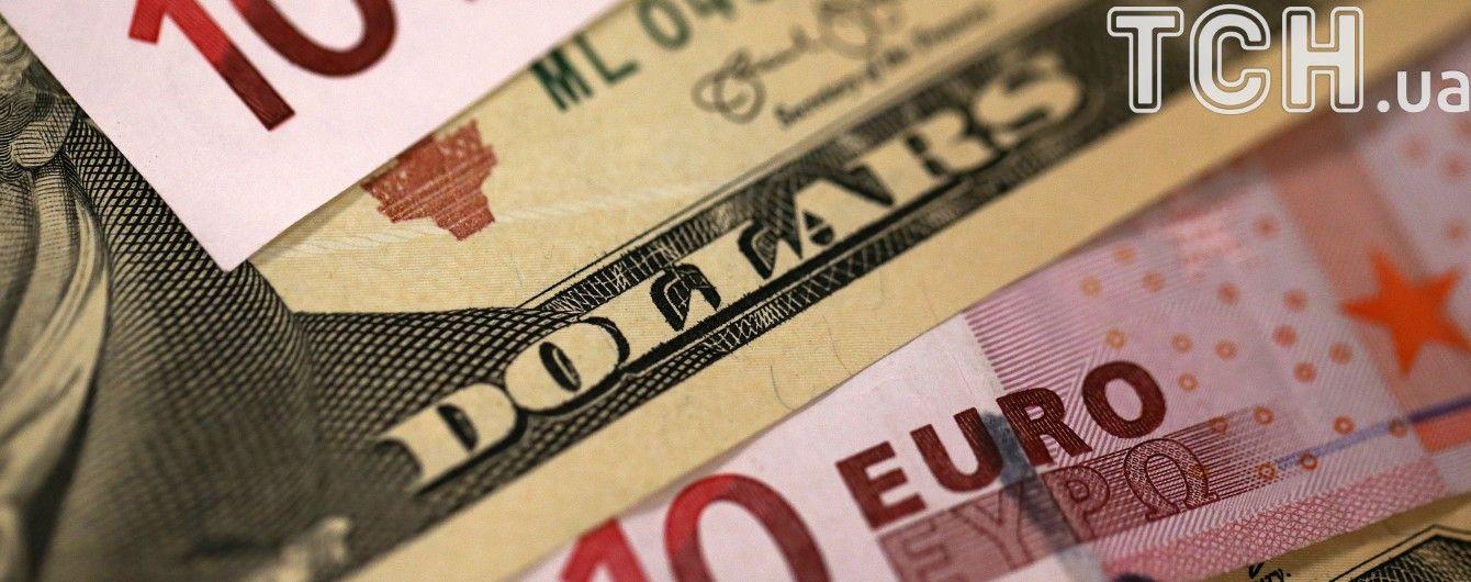 Нацбанк визначився з курсами валют на четвер. Інфографіка