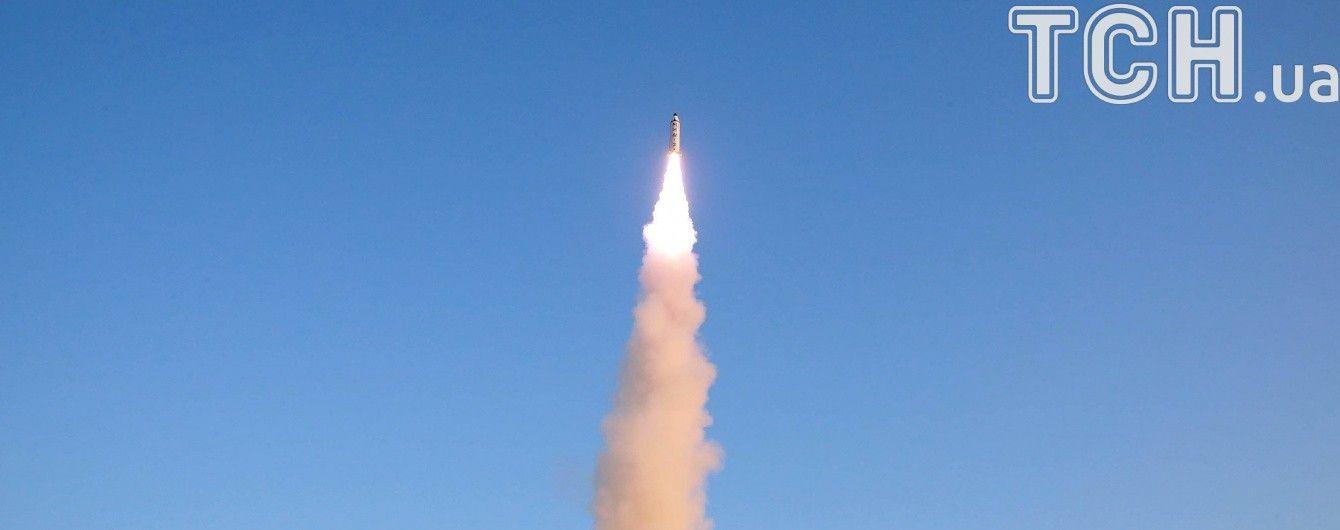 Новая провокация: КНДР осуществила запуск неизвестной ракеты