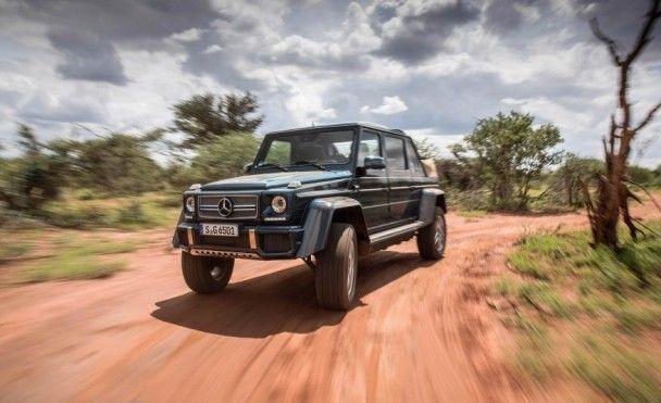 Mercedes-Benz представил внедорожник Maybach G 650 Landaulet