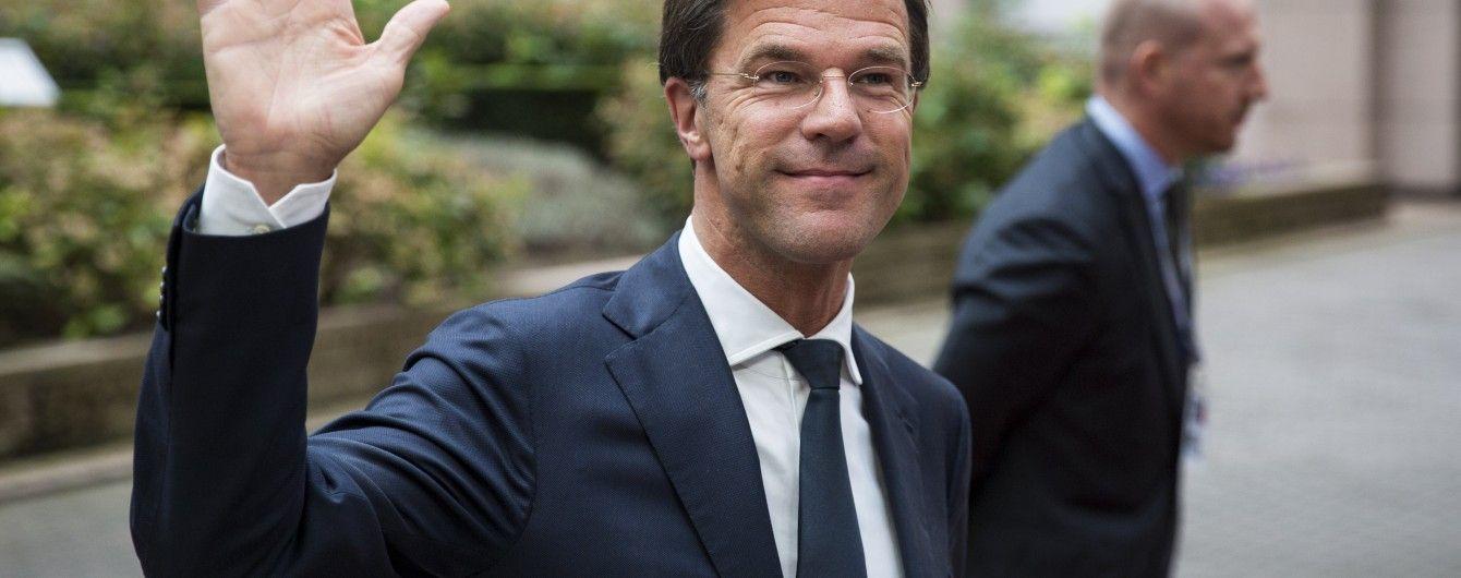 Партия действующего премьера Нидерландов побеждает на парламентских выборах – экзит-поллы