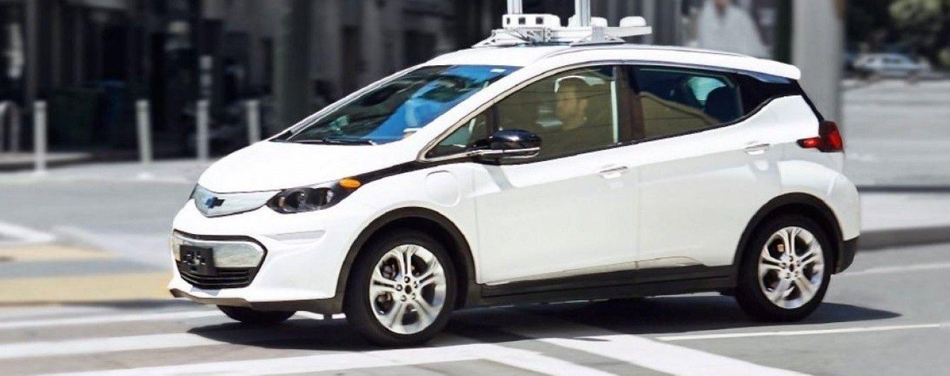 General Motors продемонстрировал работу беспилотного Chevrolet Bolt (Видео)
