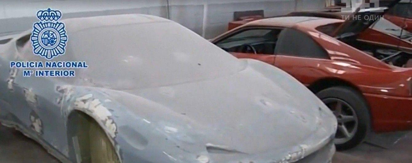 Испанская полиция накрыла автомастерскую по производству фальшивых Lamborghini и Ferrari