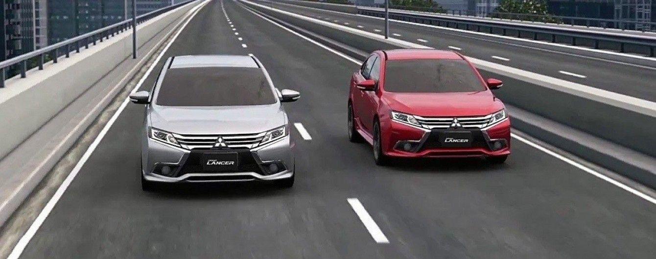 Mitsubishi представила обновленный Lancer