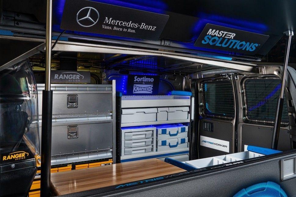 Mercedes-Benz Metris MasterSolutions Toolbox Concept