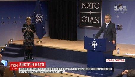 НАТО увеличивает расходы на оборону