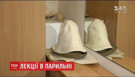 В центральном корпусе НАУ двумя этажами ниже ректората обнаружили сауну